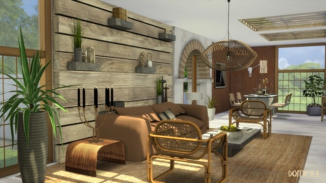 Sims 4 No. 4 moroccan european style house by CHRIS at DOMICILE HOME TS4