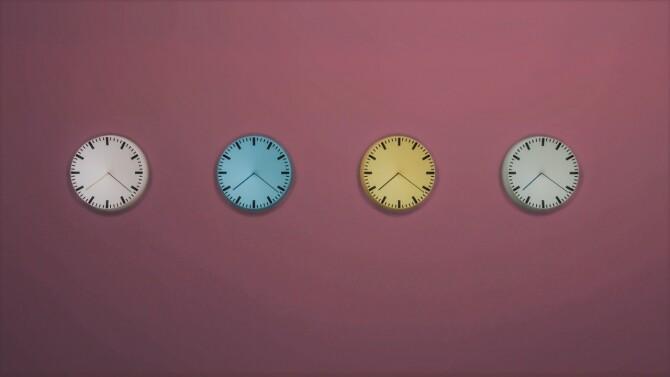 ANALOG WALL CLOCK at Meinkatz Creations image 2467 670x377 Sims 4 Updates