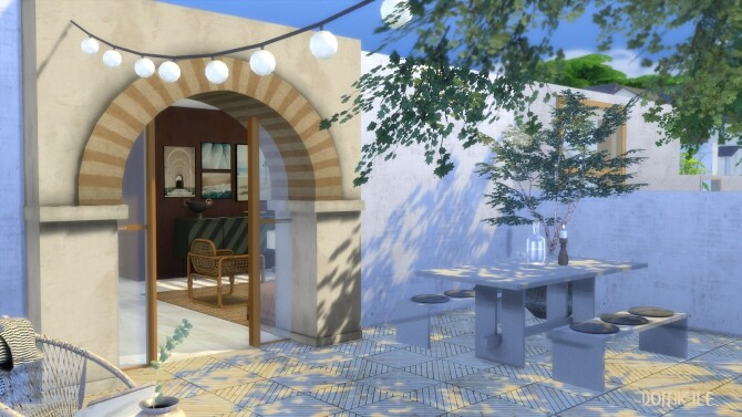 No. 4 moroccan european style house by CHRIS at DOMICILE HOME TS4 image 247 670x377 Sims 4 Updates