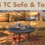 TS4 TC sofa table