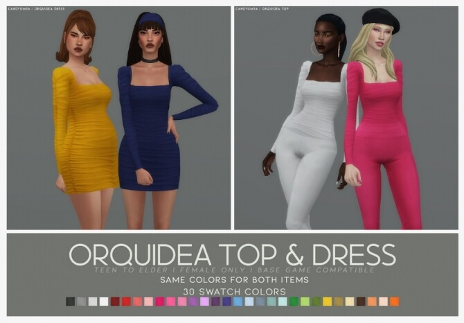 ORQUIDEA TOP DRESS