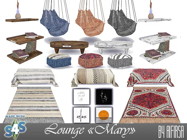 Lounge Mary Update 2020 at Aifirsa image 2502 Sims 4 Updates