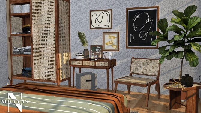BOHO BEDROOM at Novvvas image 2507 670x377 Sims 4 Updates