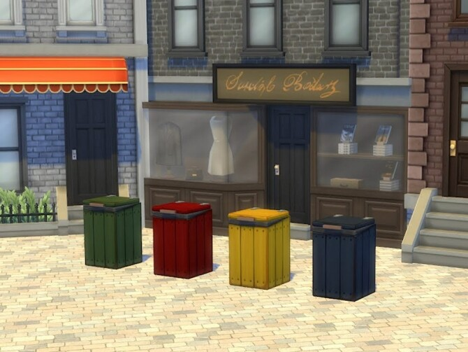 Trash and Garbage bins at KyriaT's Sims 4 World image 25110 670x503 Sims 4 Updates