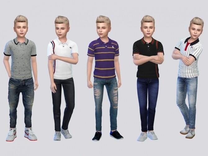 Sims 4 Twain Polo Shirts by McLayneSims at TSR