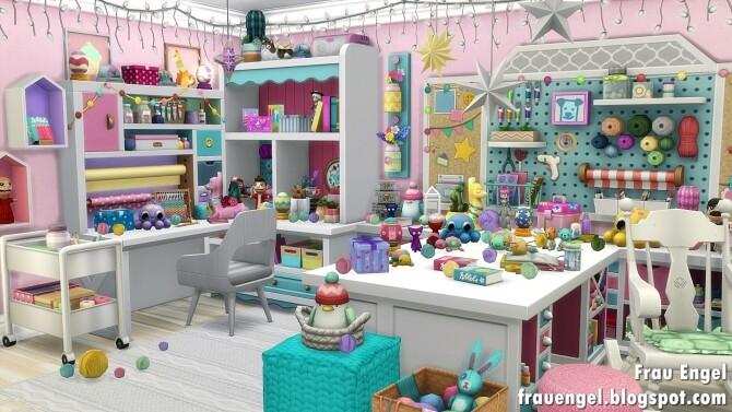 Sims 4 Art Studio Apartment at Frau Engel