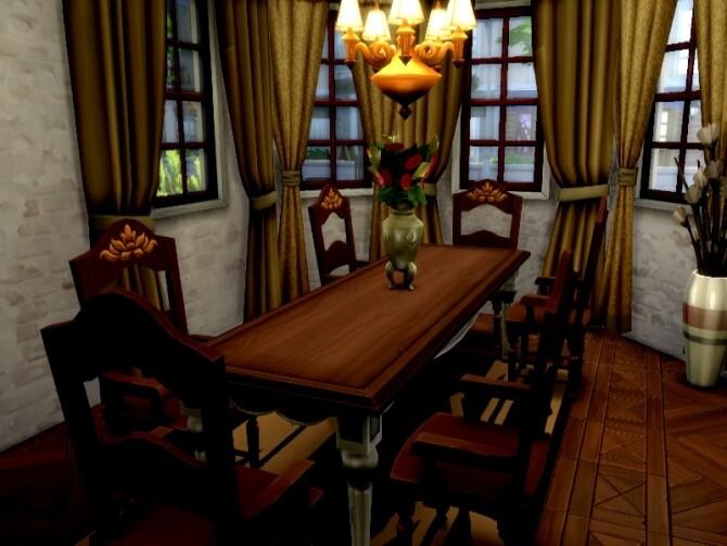 Kuznocin manor by GenkaiHaretsu at TSR image 2520 670x503 Sims 4 Updates