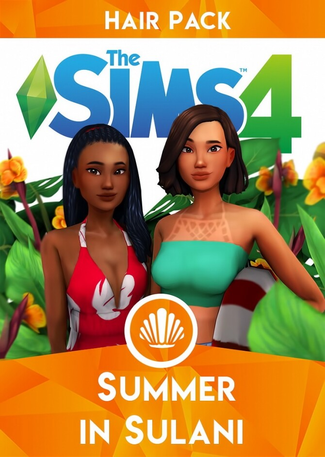 Sims 4 SUMMER IN SULANI CC STUFF PACK PART ONE at Wild Pixel
