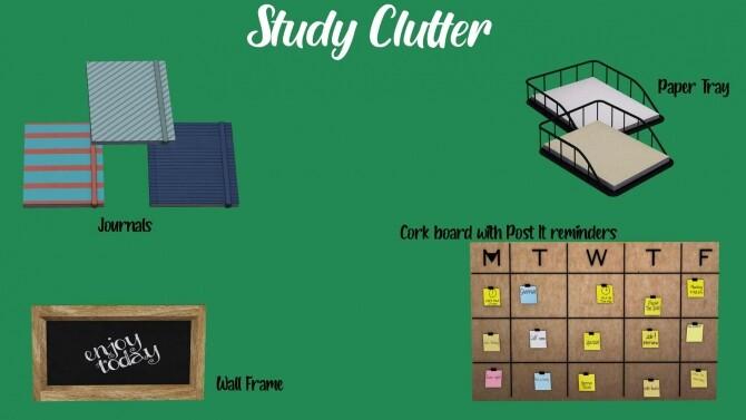 Study Clutter