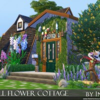 Small Flower Cottage by Ineliz