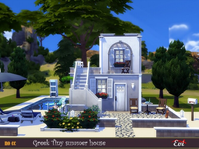 Greek Tiny Summer house by evi