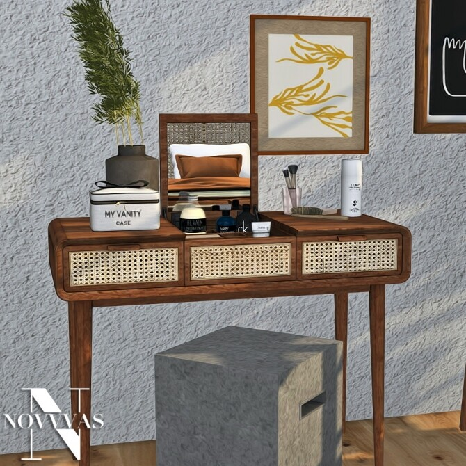 BOHO BEDROOM at Novvvas image 2547 670x670 Sims 4 Updates