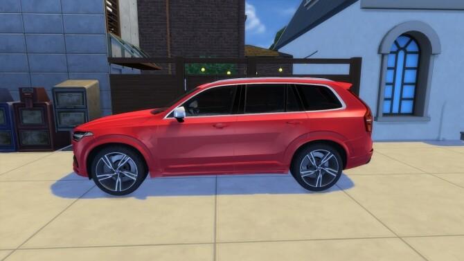 Volvo XC90 at LorySims image 259 670x377 Sims 4 Updates