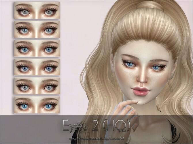 Eyes 2 HQ by Caroll91 at TSR image 2617 670x503 Sims 4 Updates