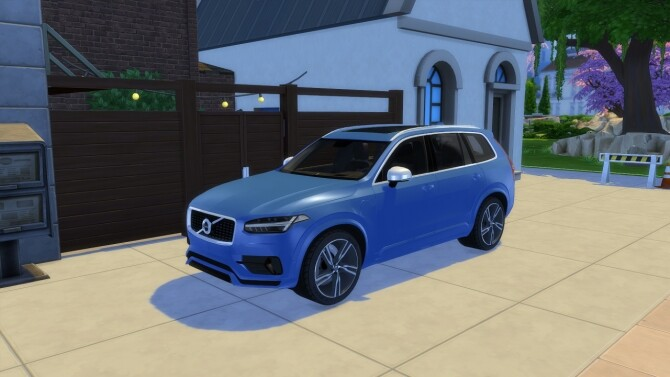 Volvo XC90 at LorySims image 262 670x377 Sims 4 Updates