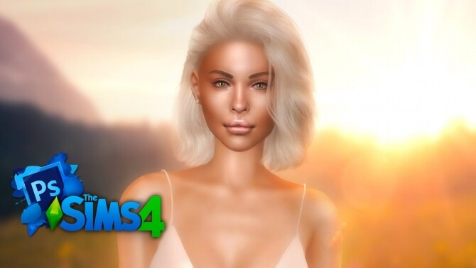Sims 4 Semi Real time edit – Shea at Katverse