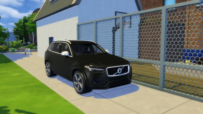 Sims 4 Volvo XC90 at LorySims