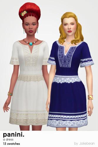 Panini dress by Joliebean