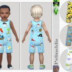 Toddler Boys Jumpsuit by Pelineldis