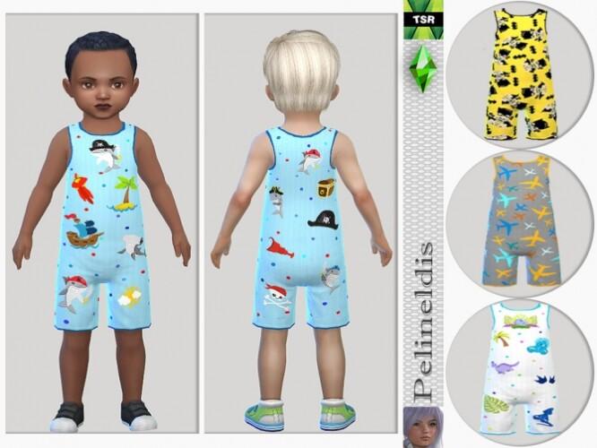Toddler Boys Jumpsuit by Pelineldis