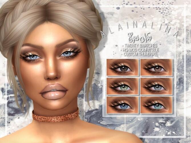 Sims 4 Eyes No9 at AlainaLina