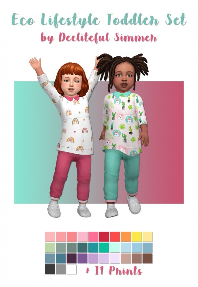 Eco Lifestyle Toddler Set at Deeliteful Simmer image 2642 670x972 Sims 4 Updates
