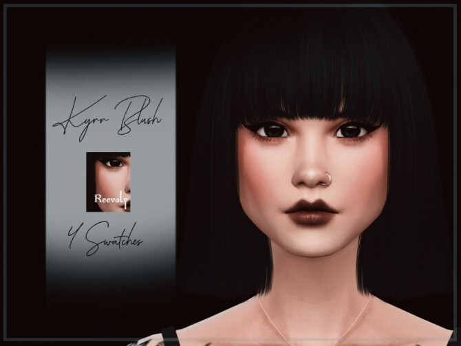 Kyrr Blush by Reevaly at TSR image 269 670x503 Sims 4 Updates