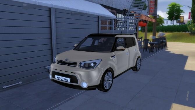 Sims 4 2014 Kia Soul at Modern Crafter CC