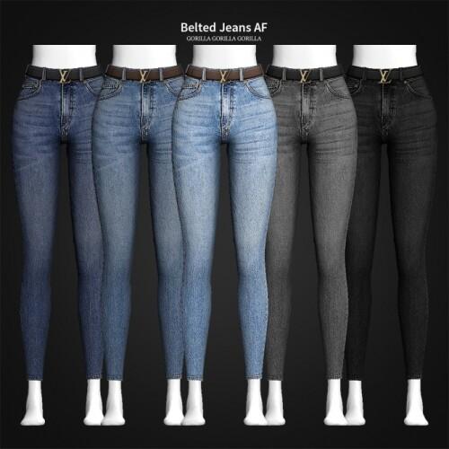 Belted Jeans AF