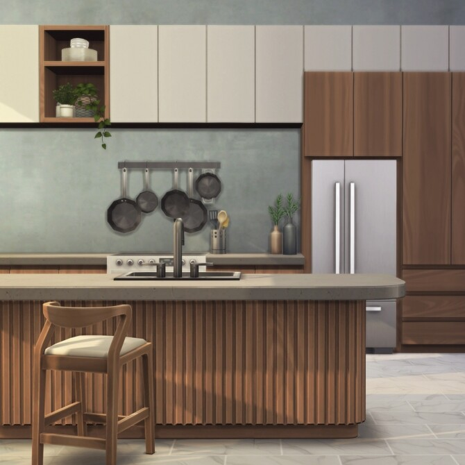 Sims 4 The Halcyon Kitchen Collection at Harrie