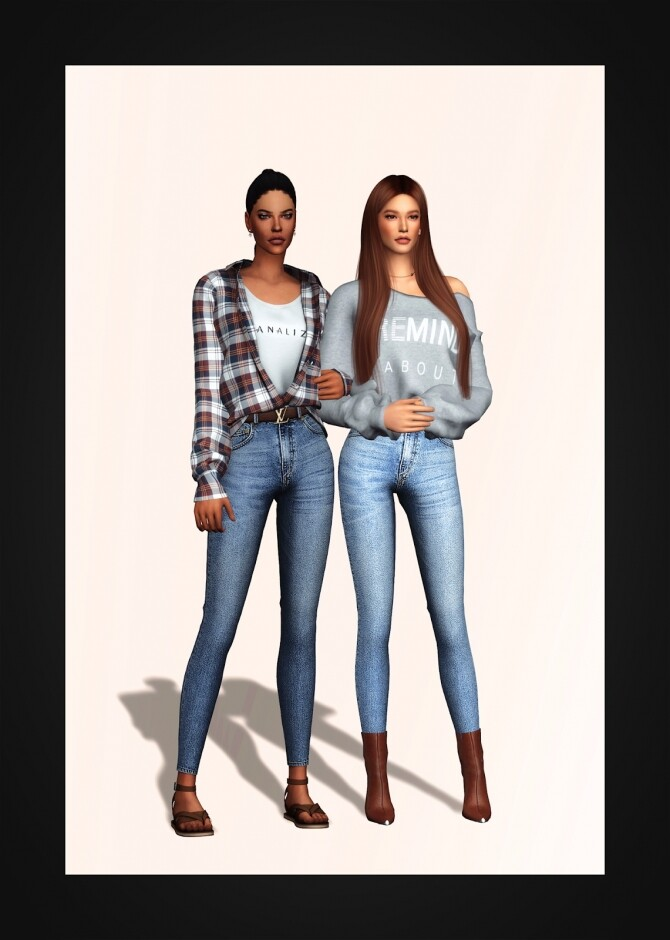 Belted Jeans AF at Gorilla image 2761 670x940 Sims 4 Updates
