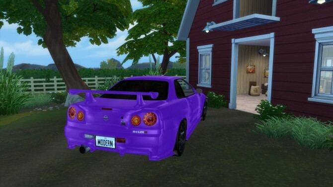 1999 Nissan Skyline at Modern Crafter CC image 2784 670x377 Sims 4 Updates