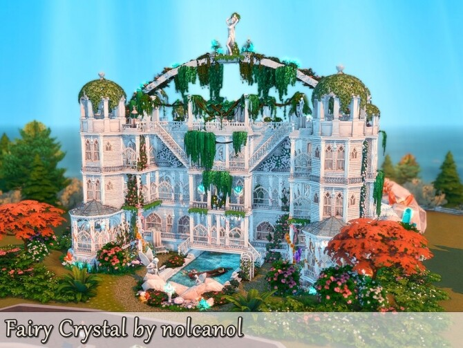 Fairy Crystal Castle by nolcanol at TSR image 279 670x503 Sims 4 Updates