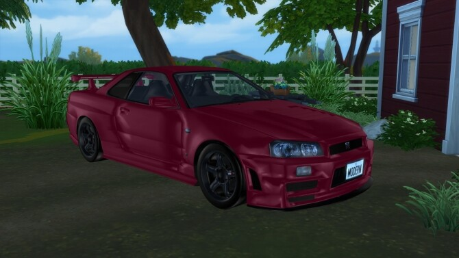 1999 Nissan Skyline at Modern Crafter CC image 2793 670x377 Sims 4 Updates