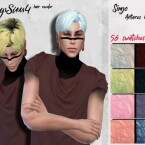 Simjo Antares male hair recolor by HoneysSims4