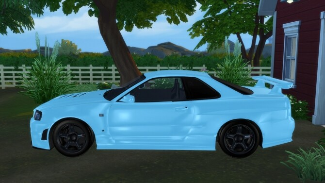 1999 Nissan Skyline at Modern Crafter CC image 2803 670x377 Sims 4 Updates