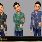 Bruno children shirt by LYLLYAN