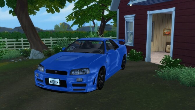 1999 Nissan Skyline at Modern Crafter CC image 2822 670x377 Sims 4 Updates