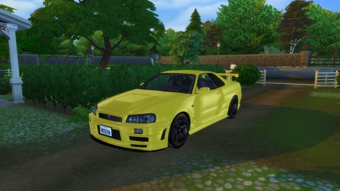 1999 Nissan Skyline at Modern Crafter CC image 2832 670x377 Sims 4 Updates