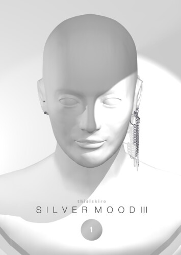 Silver Mood earring 3
