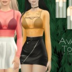 Ava Top by Dissia