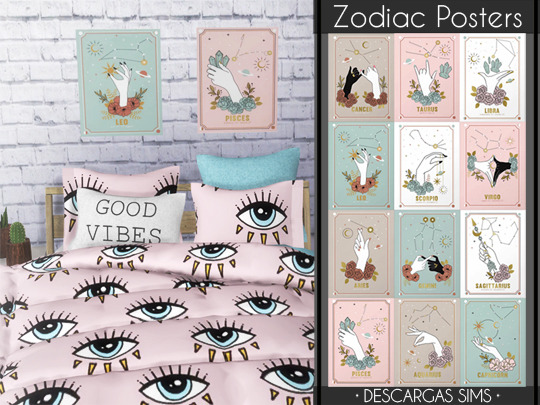 Zodiac Posters