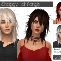 Kijiko Shaggy Long Hair retextured