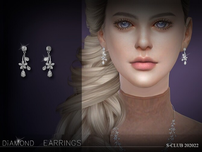 The jasmine earrings 202022 by S Club LL at TSR image 2927 670x503 Sims 4 Updates