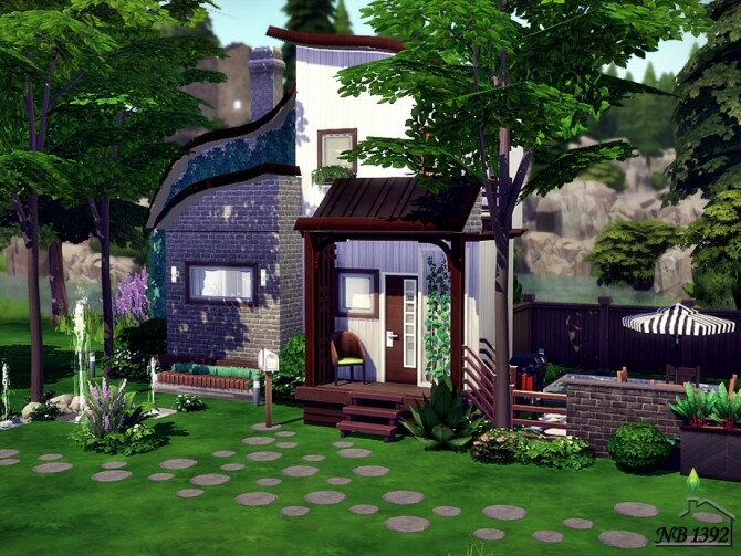 Modestly and Cozy house by nobody1392 at TSR image 295 670x503 Sims 4 Updates