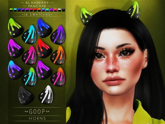 Goop Horns at Blahberry Pancake image 2971 670x503 Sims 4 Updates