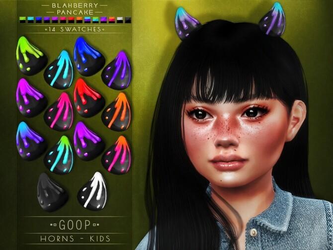 Goop Horns at Blahberry Pancake image 2981 670x503 Sims 4 Updates