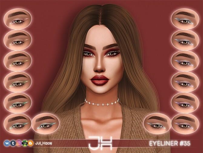 EYELINER #35 by Jul Haos at TSR image 299 670x503 Sims 4 Updates