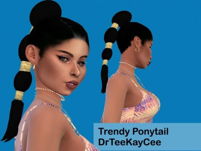 Trendy Ponytail by drteekaycee