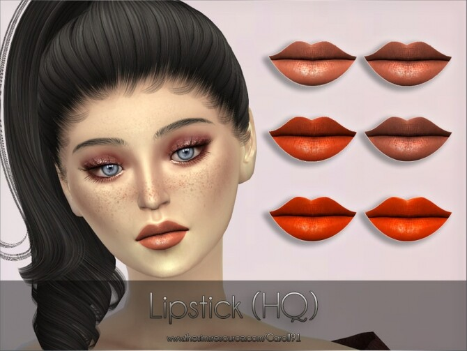 Sims 4 Lipstick HQ by Caroll91 at TSR